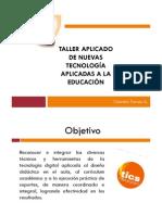 temario Taller Tic´s en la Educación