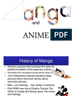 Anime and Manga Presentation