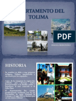 Depart Amen To Del Tolima