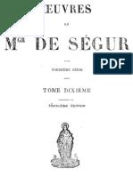 Oeuvres de Mgr de Segur (Tome 10)