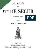 Oeuvres de Mgr de Segur (Tome 13)