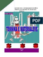 Teknika e Material Eve - Ligjeratat-2003.