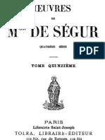 Oeuvres de Mgr de Segur (Tome 15)