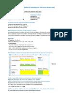 Solver y Programacion Lineal Maximizacion de Una Funcion
