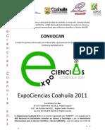 Convocatoria_ExpoCiencias__Coahuila_2011