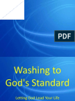 Washing to God's Standard
