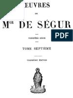 Oeuvres de Mgr de Segur (Tome 7)