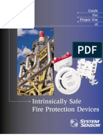 Intrinsically Safe Fire Protection Devices-System Sensor