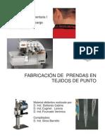 7- Fabricacion de Prendas en Tejido de Punto
