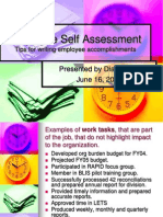 Resource Analyst Accomplishments 061605