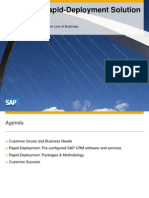 SAP CRM Rapid-Deployment Solution v2