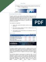 Eurekahedge Index Flash - October 2011