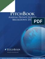 PitchBook PE Breakdown 2011