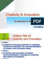 RSMCreativity & Innovation Presentation