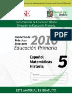 5o Cuaderno de Prácticas Escolares