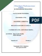 Proyecto Relleno Sanitario Guaimaca