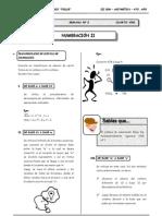 III Bim - 4to. año - Guía 2 - Numeración