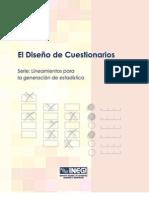 4 Diseño de Cuestionarios