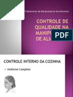 5 - Controle de Qualidade na Manipulação - Cali