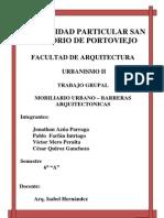 Mob Ilia Rio Urbano - Barreras Arquitectonicas