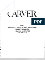 Carver m1.5 Service Manual