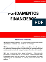 Fundamentos financieros