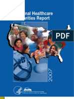 US National Healthcare Report Nhdr07