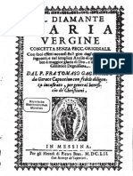 Fra T. Gagliardo, Il diamante Maria Vergine