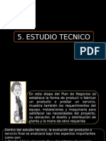 1 ESTUDIO TECNICO