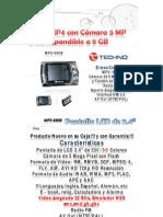 MP5 4GB Camara 5 MP Juegos