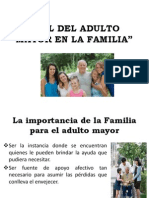 Rol Del Adulto Mayor en La Familia