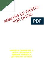 Analisis de Riesgo Por Oficio