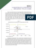 Analisis PDRB Ntb Metode Klaksen