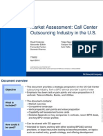 Market Assessment Call Center Outsourcing