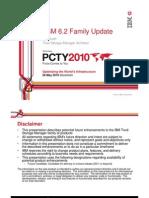 2 PCTY2010 TSM 6.2 Family Update