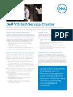 Vis Self Service Creator Spec Sheet