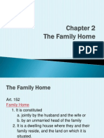 The Family Code of the Philippines Family Home