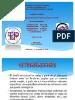 Dimension a Mien To Estructural de Diques en Talud. El Manto.