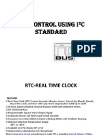 Rtc Control Using i2c Standard