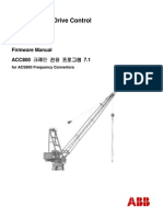 ABB ACS800 Crane Drive Control 7.1 (Firmware Manual)