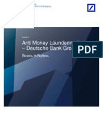 Deutsche Bank Group - Anti Money Laundering Policy