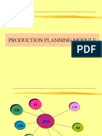 Sap Production Planning (Old)