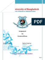 Final Assignment on GrameenPhone