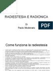 RADIESTESIA E RADIONICA