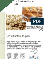 Panificação e processos fermentativos
