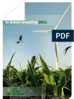 Global Trends in Green Investing 2011