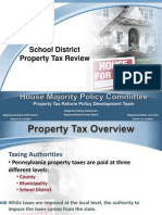 Representative Seth Grove - PA School District Property Tax Review