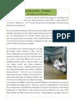 Lesser Known World-The Madrasa
