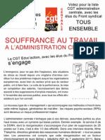 Tract Souffrance Au Travail