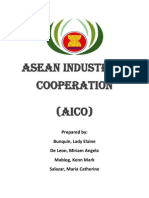 Asean Industrial Cooperation